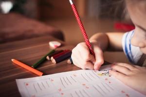 child schoolwork