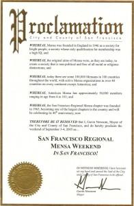 SFRM Proclamation