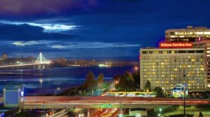 Night Photo of the Emeryville Hilton