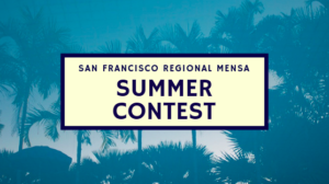Summer Contest Header with Palm Trees