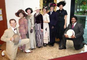 people in Ragtime Costumes